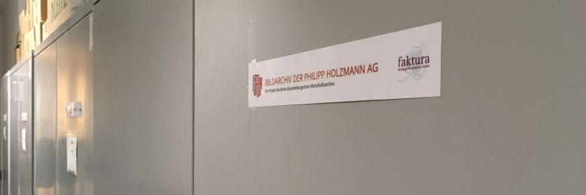 """Zum Projektstand """"Holzmann-Bildarchiv"""" – ein Zwischenbericht"""